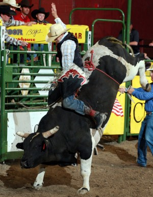 With heavy heart, Jenkins rides for another gold buckle