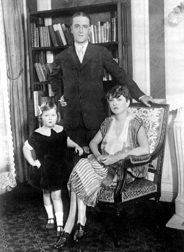 F Scott Fitzgerald Daughter Author F  Scott Fitzgerald and