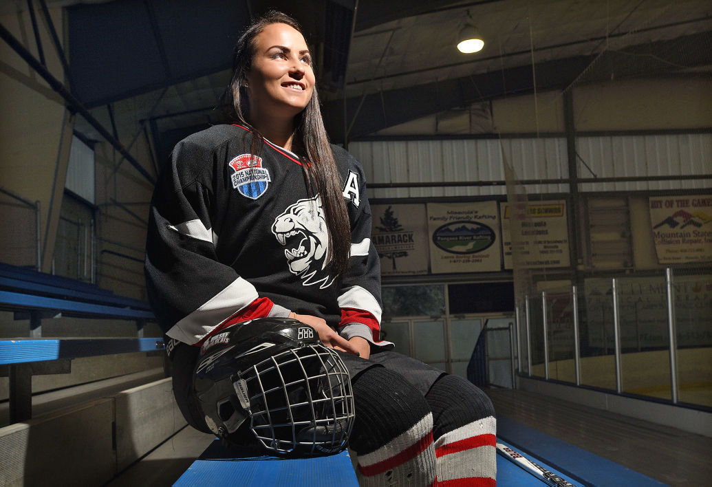 MT H.S.: Missoula Girl Chloe Arthur Joins Exclusive Club As College Hockey Player