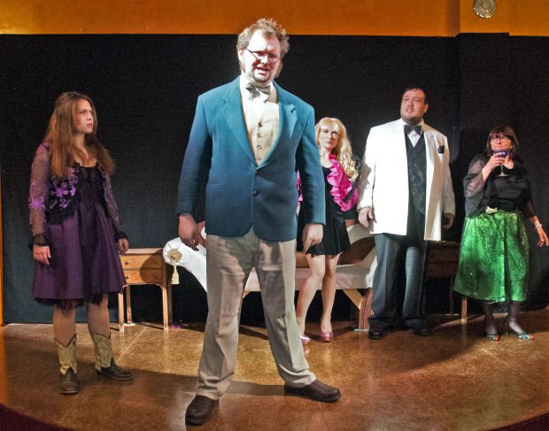 Murder-mystery dinner theater show kicks off at Stensrud