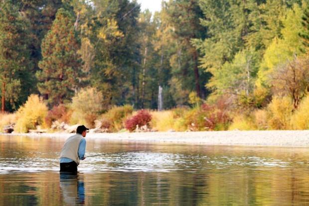 Bitterroot river fishing report nymph fishing best bet for Fresno fishing report 2017