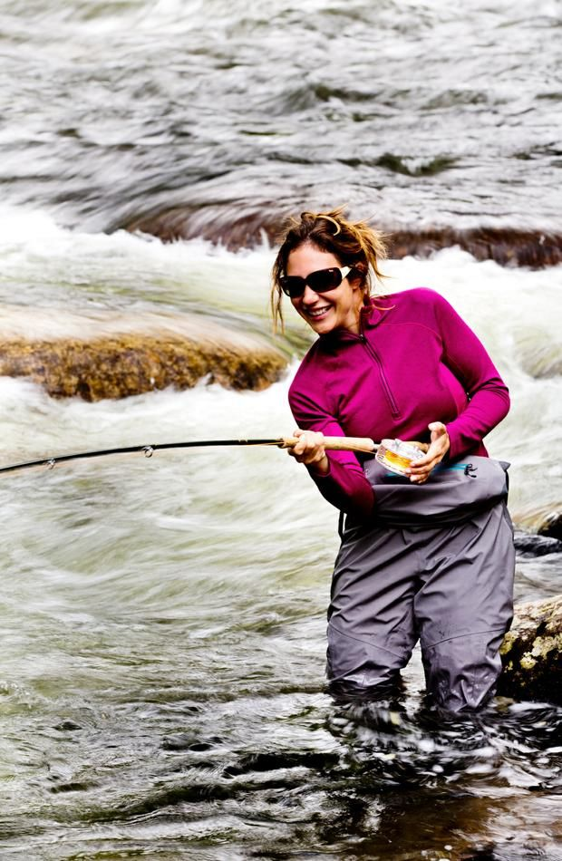 April vokey married the image kid has it for Chicago fly fishing