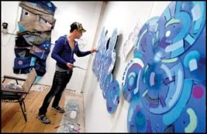 Missoulian Interviews Joey DeRuy :   Joey DeRuy, Artist / illustrator