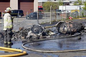 No problems reported in minute before deadly jet crash