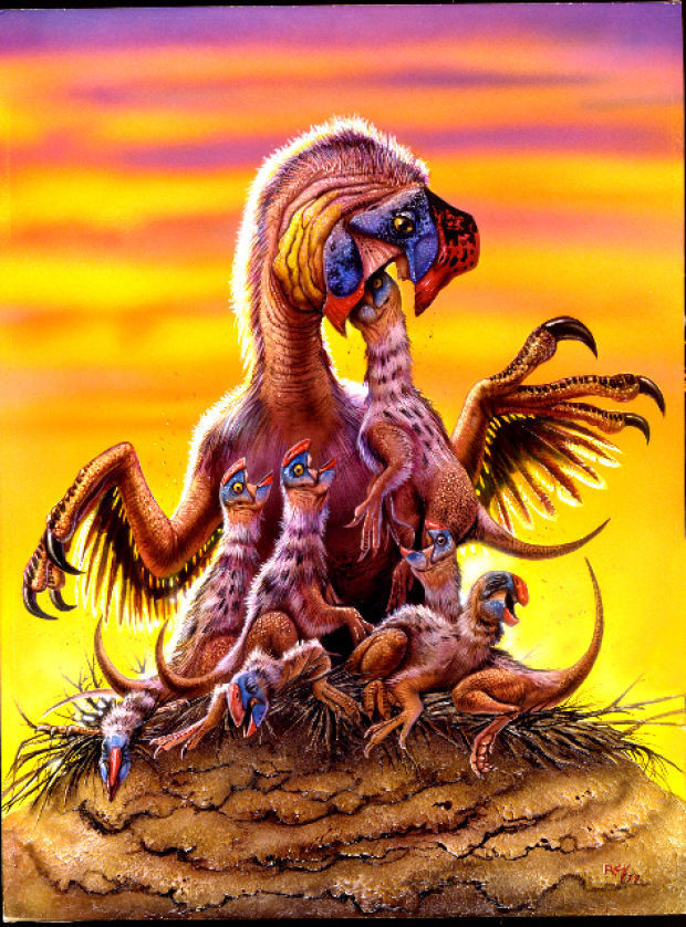 other meat eating  dinosaurs in action