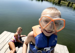 Faces of summer: Portraits on Frenchtown Pond