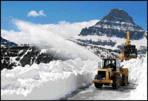 Snow going: As crews work to clear Sun Road, opening date in question