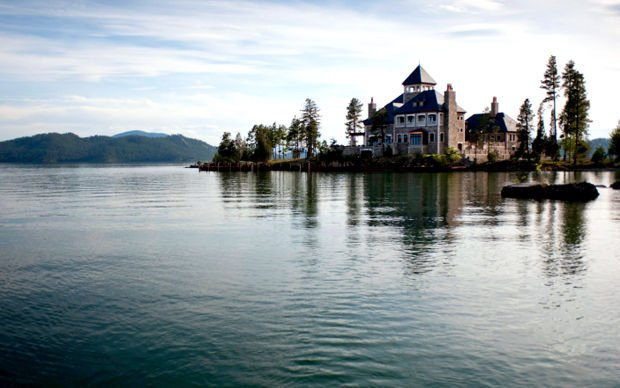 Owner Of Extravagant Flathead Lake Island Home Seeks To