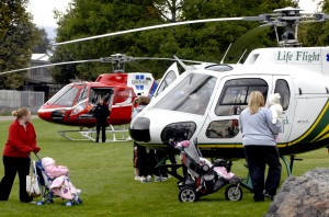 St. Pat's, Community to share medical helicopter services