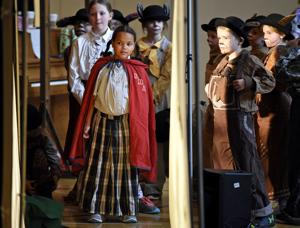 Paxson third-graders show off Spanish skills in play