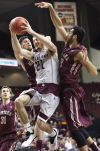 Second-half A&M run dooms Griz in NIT