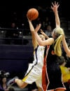 Western AA girls' basketball: Sentinel roars back into state tourney