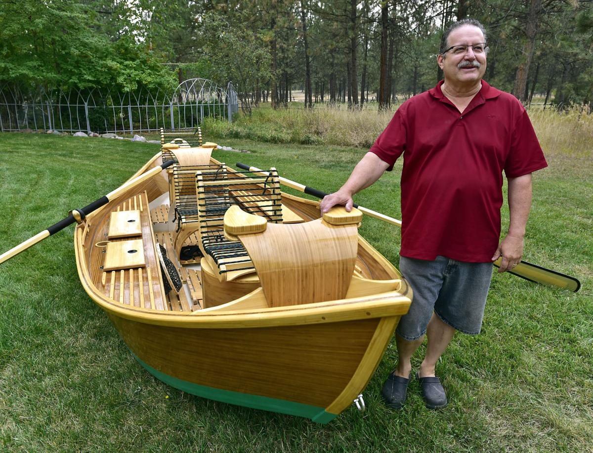 From rod to ride woodworker turns fly fishing interest to for Fly fishing boats