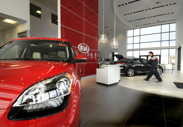 Auto dealers anticipate solid market in 2013 but there s Kia motor dealers