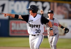 Late outburst fuels Mustangs in win over Osprey