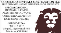 Colorado Revival Construction LLC