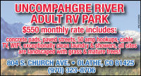 Uncompahgre River Adult RV Park