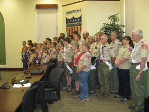 Councilors recognize scouts' Order of the Arrow