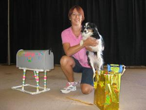 Canine mailbox trick secures top prize