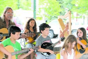 Children get crash course in music