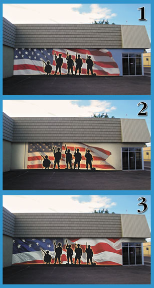 Help choose downtown mural local news stories for 6 blocks from downtown mural