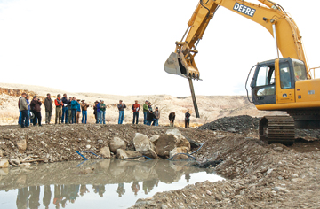 Irrigation dam on Gunnison being replaced, thanks to collaborative efforts