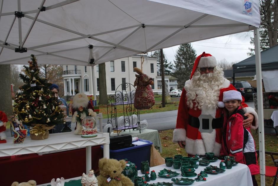 Outdoor Christmas market attracts all ages