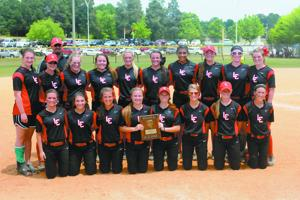 Lady Red Devils earn trip to state with region title