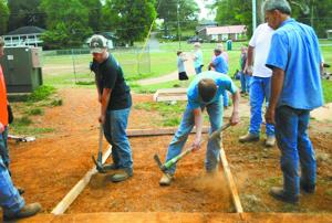 Moulton Middle School students take charge of building bridge