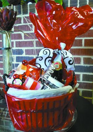 Hospice Valentine Basket