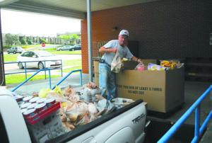 Food drive benefits Good Samaritan
