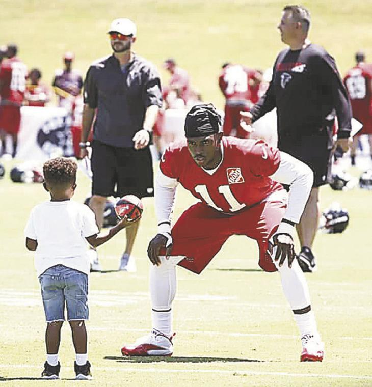 Boys to Men visit Atlanta Falcons | Local News | moultrieobserver.com