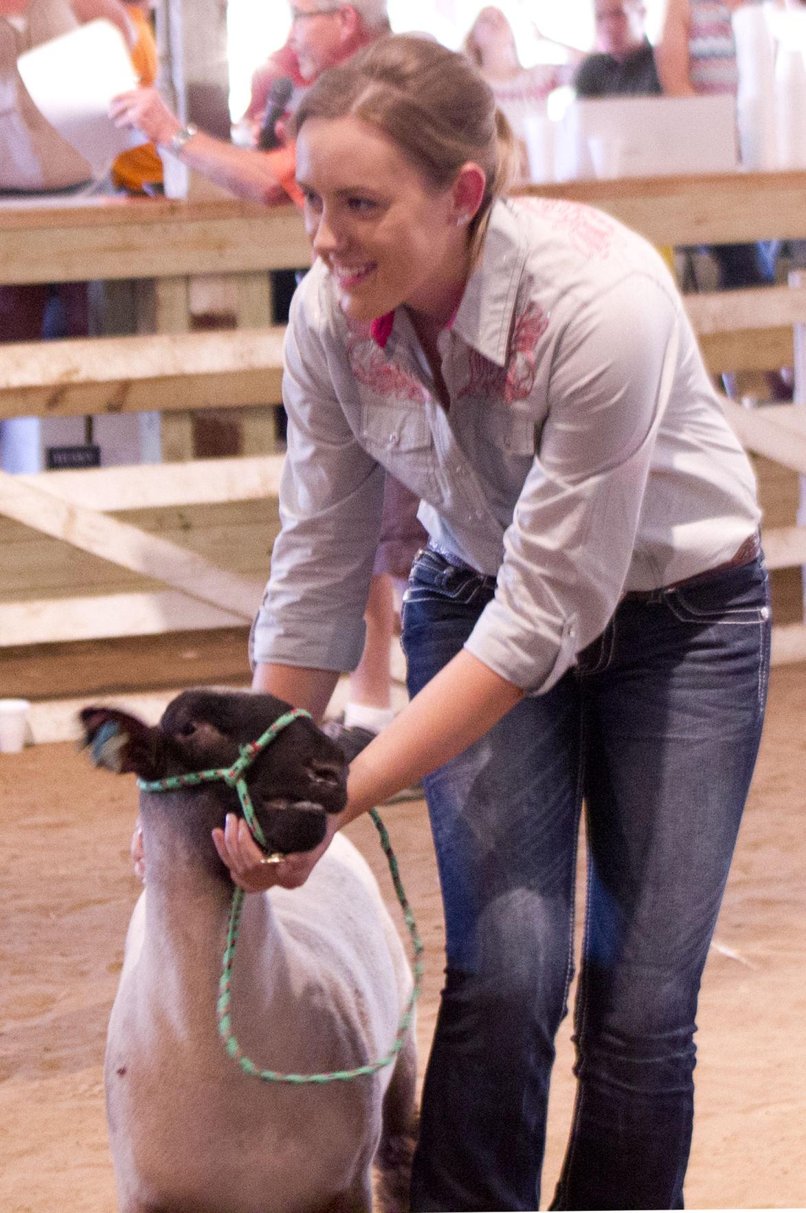 Livestock auction top bidders
