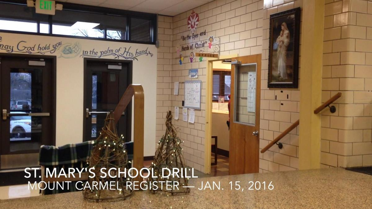St. Mary's School conducts active shooter drill