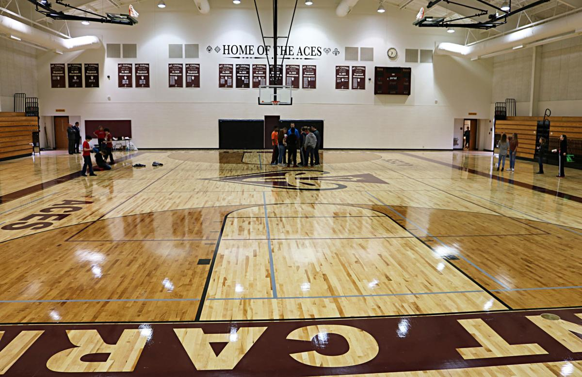 Mount Carmel Middle School gym in use after long repair process