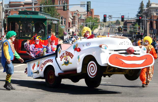 Uptown clowns: Shriners parade through Butte