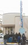Bus Depot in Billings and film crew