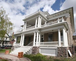 These two Park street estates, now for sale, brought opulence to Butte