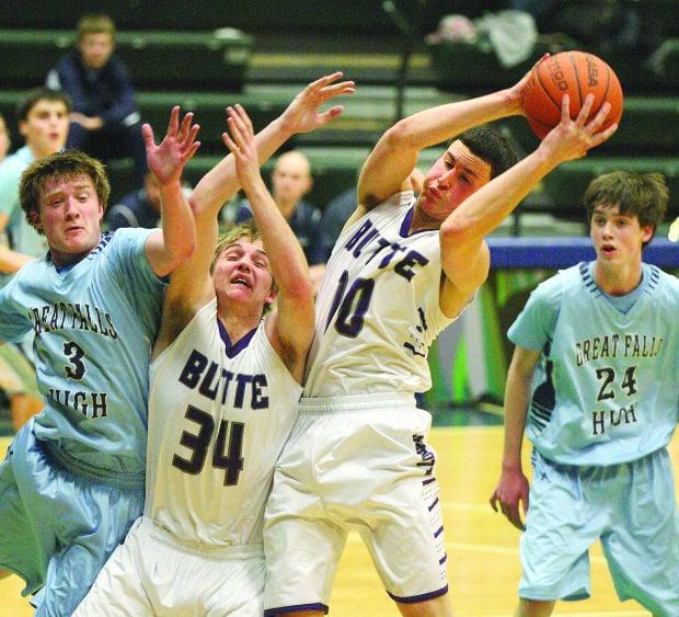 Boys high school basketball roundup: Bison rally past ...