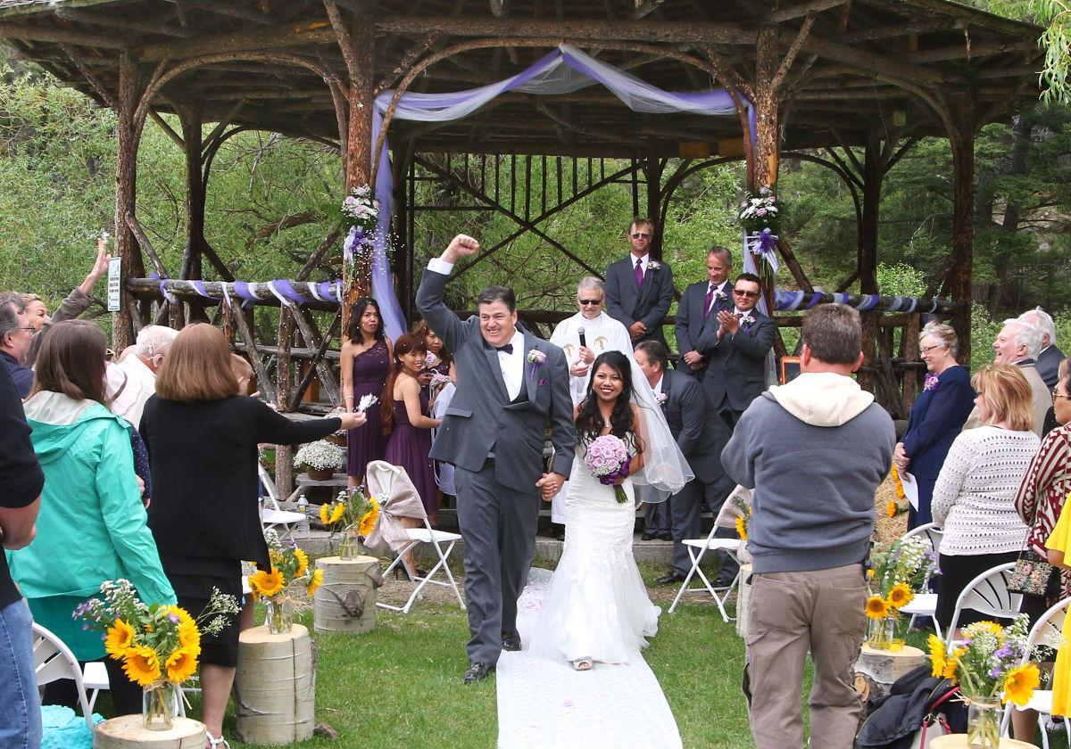 it s official outdoor catholic weddings a go in butte