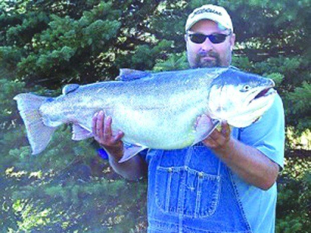 Man reels in rainbow trout nearly 35 lbs recreation for Idaho fish and game phone number