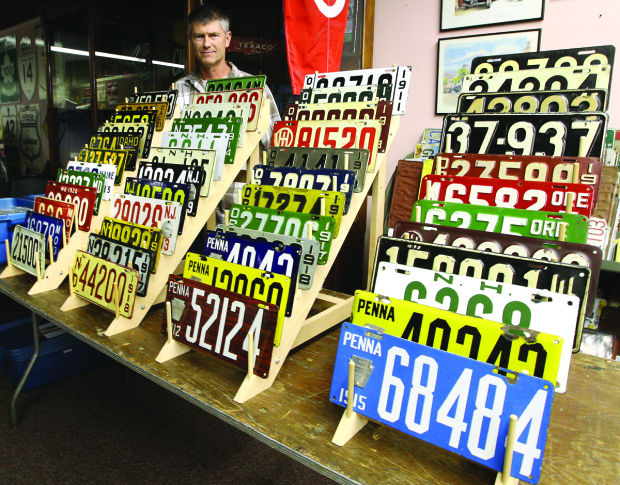 licence plate collectors