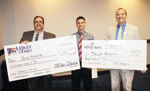 Friedrich Student of the Year; Calloway senior receives inaugural honor from Murray Bank, Ledger