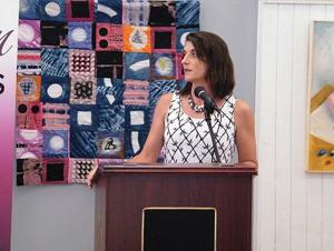 Speaker gives inspiration to 'Women in Business'; Luncheon attracts audience of 120