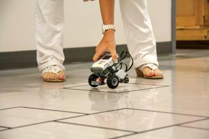 Teachers learn basic robotics