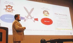Murray State graduate gives 'Military Lessons' about cyber protection