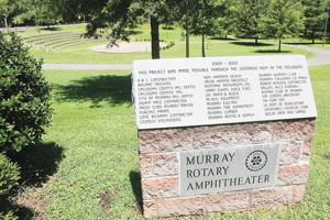 Rotary Club commits to amphitheater renovation project