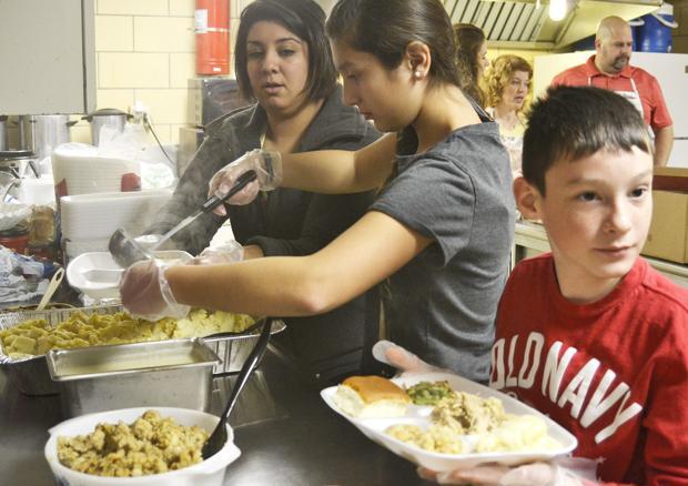 A healthy serving of volunteers