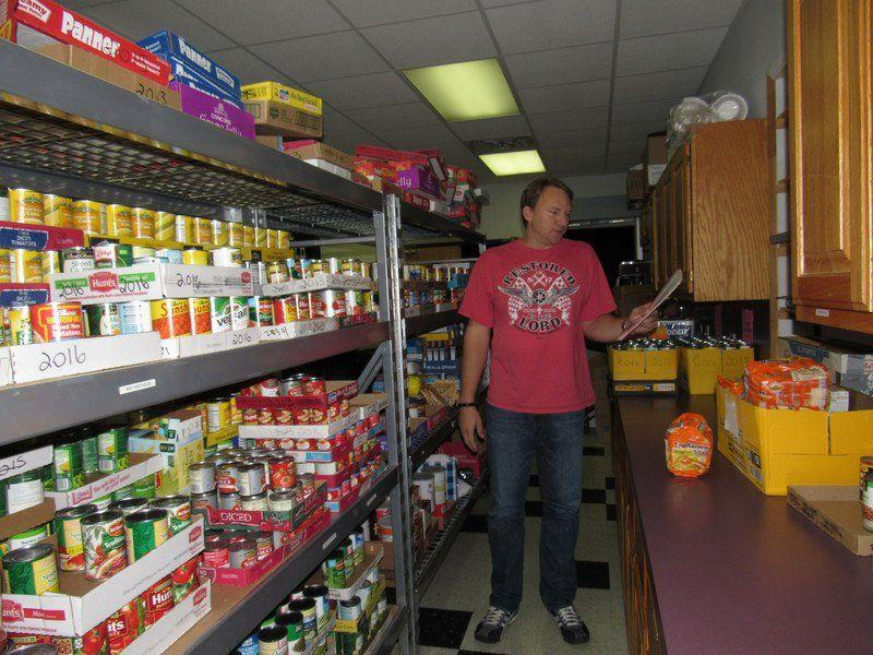 church 39 s food pantry filled by generous folks fort