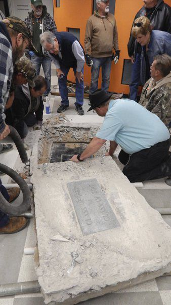 1967 time capsule unearthed